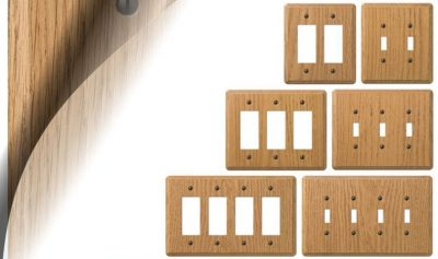 Wood Wall Plate
