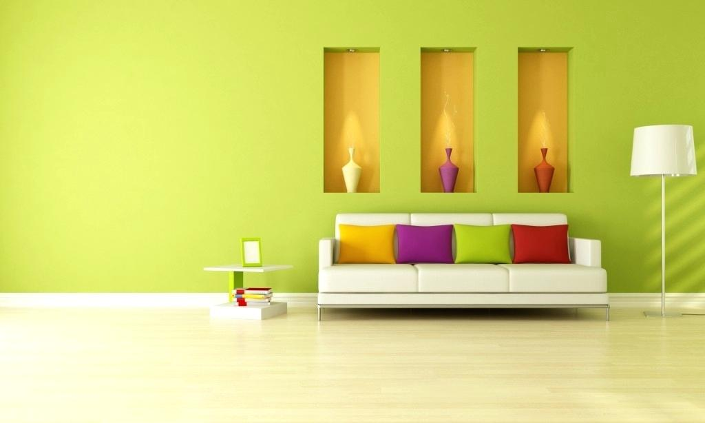 Uniform Light Wall Color