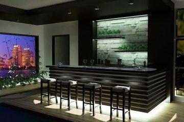 How to Design a Beautiful Home Bar
