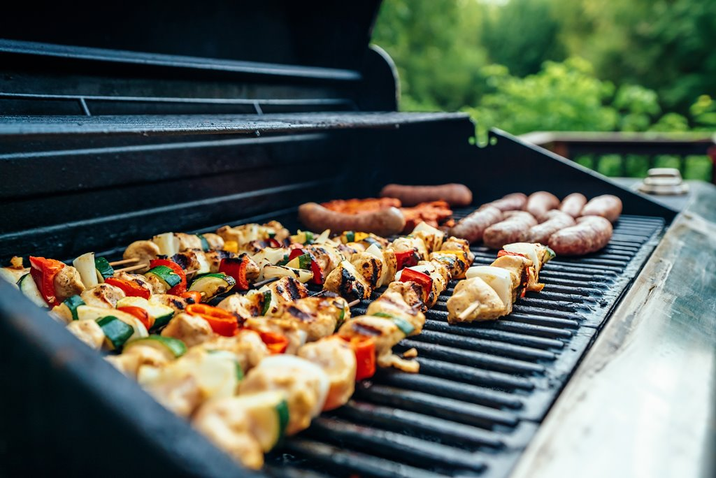Scrub your BBQ grills