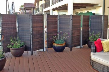 5 Patio Privacy Ideas to Block Your Neighbours View